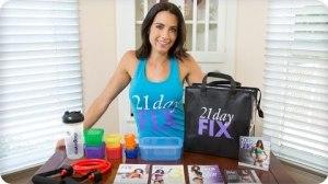 Autumn Calabrese opens a shipment of her fitness program 21 Day Fix and shows what's inside.