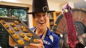 Thanksgiving Recipe Pumpkin Cookies with Tony Horton