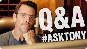 Tony Horton YouTube Q and A #5