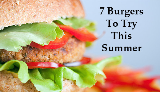 7 Healthy Burgers to Try This Summer