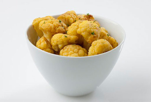 Curried cauliflower recipe from the Ultimate Reset
