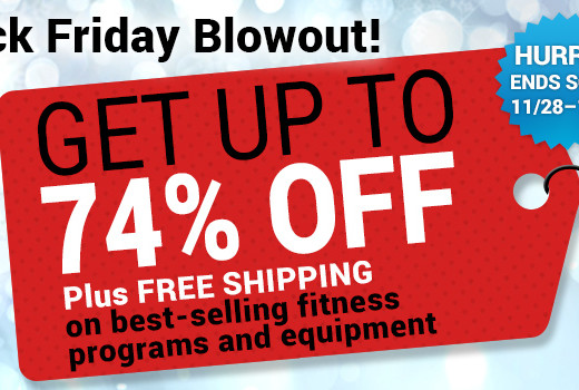 Black Friday Holiday Blowout Sale