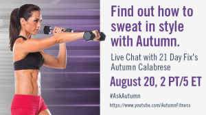Beachbody Blog Sweat Style Autumn Calabrese Chat
