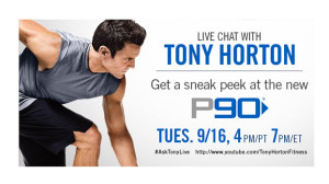 Beachbody Blog Tony Horton Chat September P90