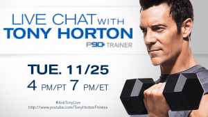 Live Chat with Tony Horton