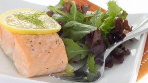 Oven-poached salmon recipe