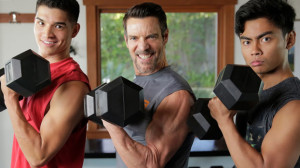 Tony Horton's Triple Threat Back and Chest Workout with Wassabi