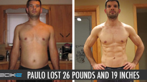 P90X2 Results Paulo P