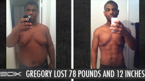 P90X Results Gregory W