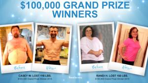 Beachbody Challenge 2015 Grand Prize Winners