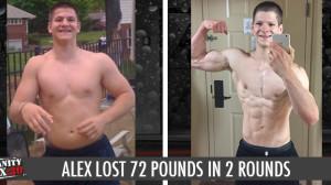 INSANITY MAX:30 Results Alex P