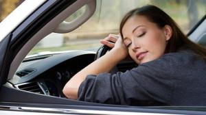5 Ways to Fight Fatigue woman sleeping car
