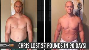P90X3 Results Chris B