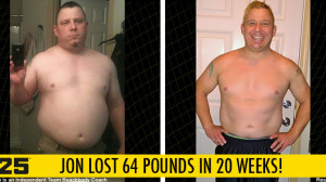 FOCUS T25 Results: Jon Lost 64 Pounds