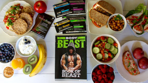 What does a Beast eat in a day?