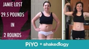 Jamie's PiYo Results | BeachbodyBlog.com