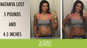 3-Day Refresh Results Natanya D