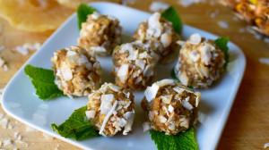 Vanilla Shakeology Macadamia Nut Pineapple Balls Recipe | BeachbodyBlog.com