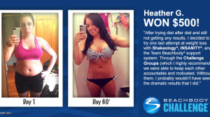 Beachbody Blog Heather G. INSANITY