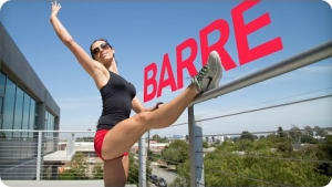 Autumn Calabrese barre workout | BeachbodyBlog.com