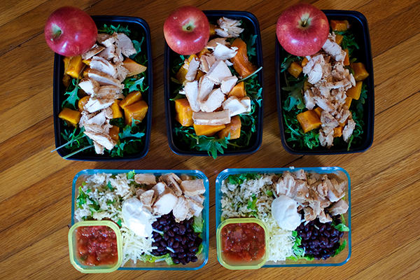 Meal Prep For The 21 Day Fix 2 100 2 300 Calorie Level The Beachbody Blog