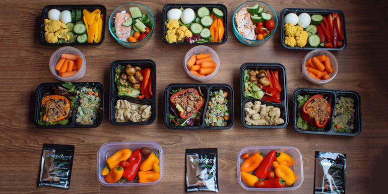 Meal Prep with Taco-Style Stuffed Peppers and Chicken Curry for the 21 Day Fix 1,500–1,800 ...