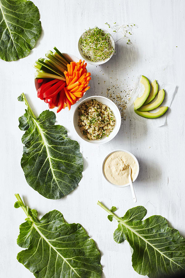 Crunchy Veggie Wraps | The Beachbody Blog