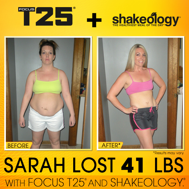Transformation Tuesday - T25 + Shakeology Special Edition ...
