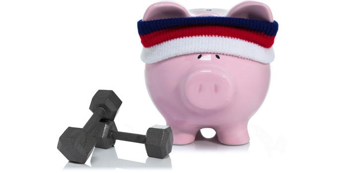 save money home gym