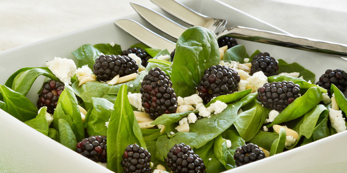 Blackberry Spinach Salad Beachbody Blog