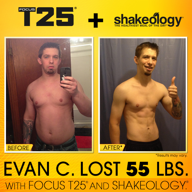 T25 + Shakeology Success - Shakeology