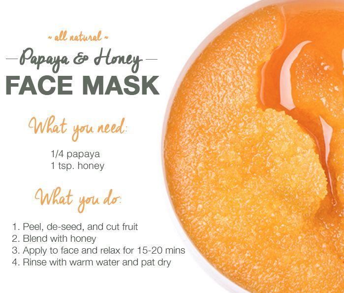 homemade facial recipes