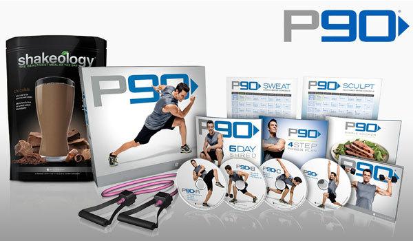 Pack is the P90 Base Kit   P90 Beachbody Logo