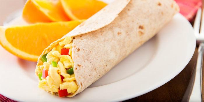 Egg White Breakfast Burrito The Beachbody Blog