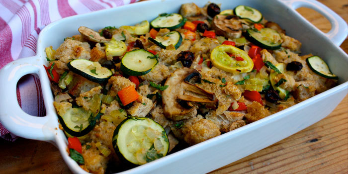 Zucchini Stuffing With Mushrooms and Garlic - The ...