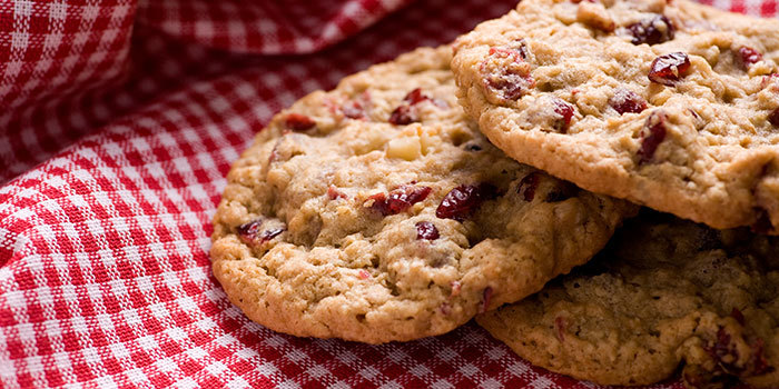 ... healthy diet can include these delicious oatmeal cookies with sweet