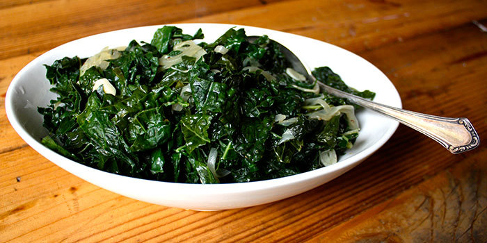 This hearty winter greens dish is is a great side dish for any savory ...