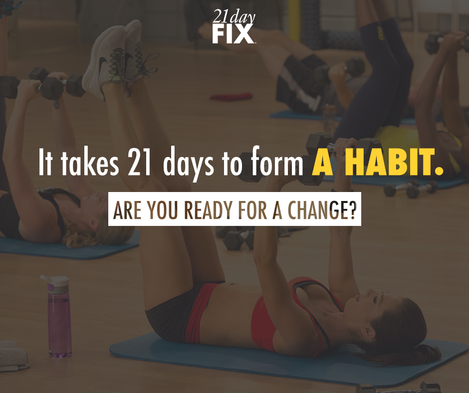 Why 21 Day Fix Is The Perfect New Habit