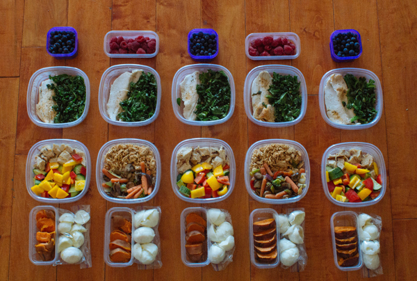 How to prepare meals for the week weight loss