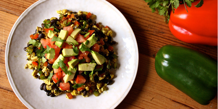 Mexican Tofu Breakfast Scramble - The Team Beachbody Blog
