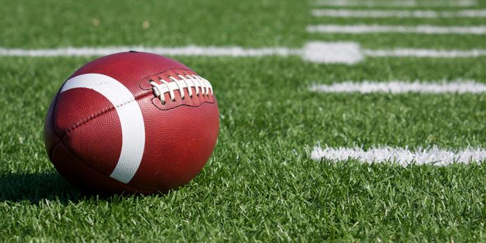 Big Game Challenge Football on Field