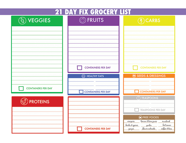 Doc Sample Grocery List Template Free Printable Grocery List – Sample Grocery Lists