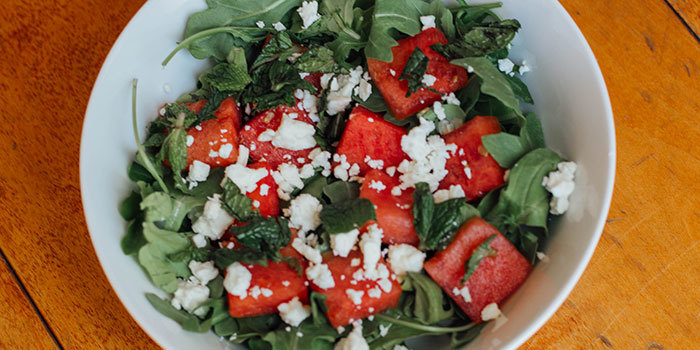 Watermelon and Arugula Salad - The Beachbody Blog