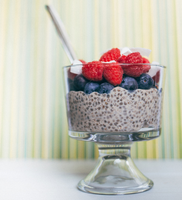 Red White Blue Shakeology Pudding