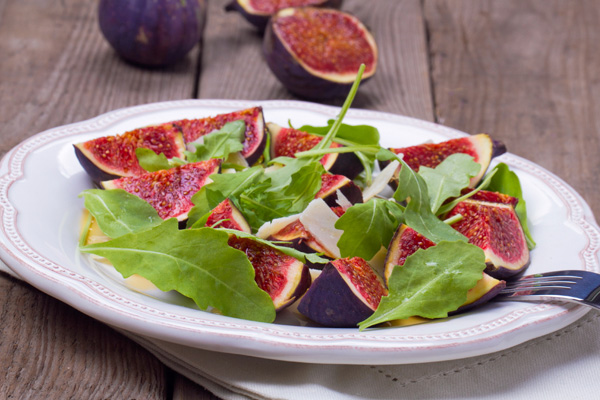 Fig Salad with Honey-Lemon Dressing