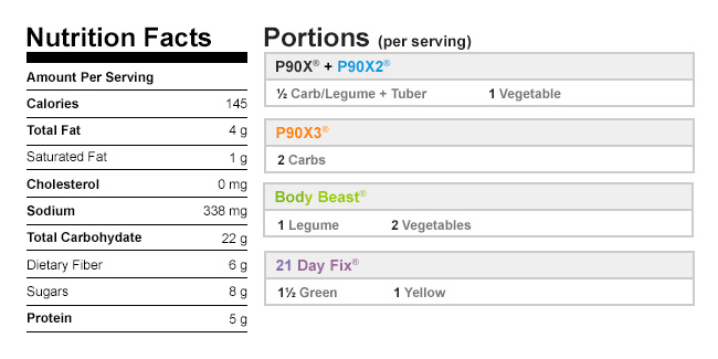 Calories in Vegetable Soup