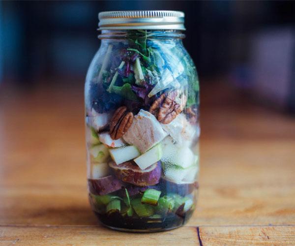 Meal Prep Monday Mason Jar