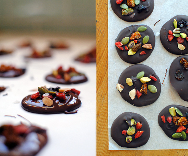 Dark Chocolate Superfood Bites