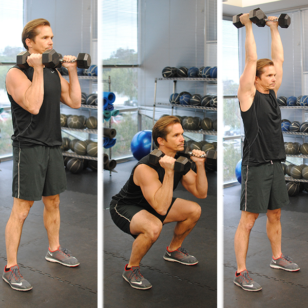 5 Moves for Burning Fat Squat Press