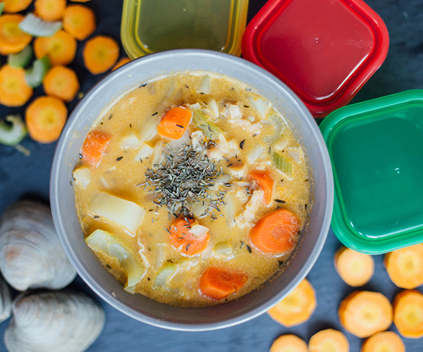 ... from a chowder you may never open a can of soup again get the recipe